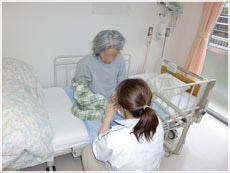 医療療養病棟の様子の写真